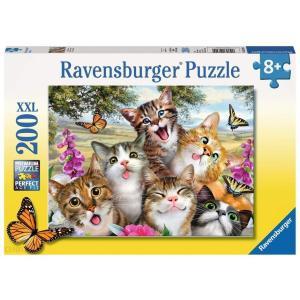 Ravensburger ラベンスバーガー 仲良しなネコ(200ピース)|lineshonpo
