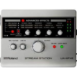 ROLAND UA-4FX2 オーディオインターフェース lineshonpo