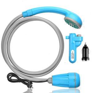 ポータブルシャワー innhom アウトドアシャワー 2つの起動方法 USB充電式 キャンプ 釣り 海水浴 サーフィン 洗車 屋内 屋外のシャワー コンパクト ペットシャワ|lineshonpo
