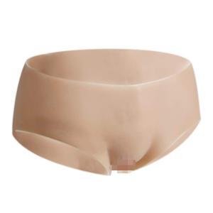 JUYO VONSAN 女装 下着 性転換 シリコンパンツ ショーツ カバーパンツ Tバッグ 仮装 カバーパンツ 男性用 下着 まだ尿導管のデザインもあり (M lineshonpo