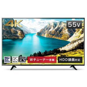 アイリスオーヤマ 55型 4K対応 液晶 テレビ 55インチ ブラック 55UB10P|lineshonpo