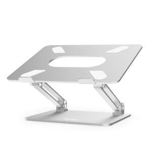 BoYata ノートパソコンスタンド パソコンスタンド PCスタンド ノートPCスタンド 高さ/角度調整可能 姿勢改善 腰痛/猫背解消 折りたたみ式 滑り止め アルミ合金製|lineshonpo
