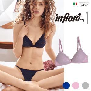 infiore/インフィオレ【TOSCA】 5352 インポートランジェリー  イタリア ブラ モールドカップ 三角ブラ 3/4カップブラ|lingerie-felice