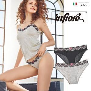 infiore/インフィオレ【TURANDOT】 インポートランジェリー ビスコース ストレッチレース アーガイルチェック イタリア ビキニ|lingerie-felice