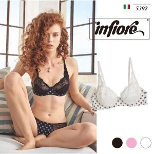 infiore/インフィオレ【ISOTTA】 インポートランジェリー ビスコース ストレッチレース   イタリア ブラ ノンパッドブラ|lingerie-felice