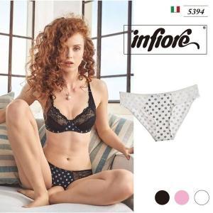 infiore【ISOTTA】 インポートランジェリー ビスコース ストレッチレース イタリア ビキニ  ビキニショーツ|lingerie-felice