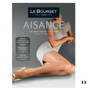 【Le Bourget】(ル ブルジェ) bas Satine 15 インポートガータータイツ 15デニール 薄手ガーターストッキング つま先補強 足型付き|lingerie-felice