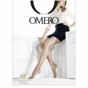 OMERO【オメロ】 CHIMERA 15 den/オールスルー/ ESSENTIAL LINE Collection オールシーズン ライクラファイバー シルキーマット ベーシック ストッキング|lingerie-felice