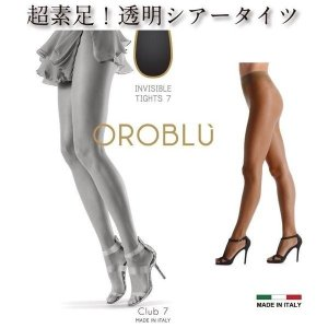 OROBLU【オロブル】club7/7デニール/インポート/シアータイツ オールシーズン シアータイツ/オールスルー|lingerie-felice