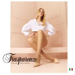 【Trasparenze(トラスパレンツェ)】  Debby 40 インポートシアータイツ  40デニール つま先補強 フラットシーム シアータイツ|lingerie-felice