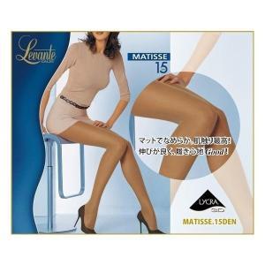 イタリア製/インポートストッキング/ライクラ/オールスルー/Levante/レバンテ MATISSE 15den 3Dライクラ マット パンティストッキング|lingerie-felice