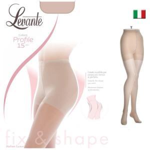 Levante【レヴァンテ】Profile 15 インポートストッキング ライクラファイバー  極薄ストッキング マチ付ストッキング ガードル付 つま先フラット  15デニール|lingerie-felice