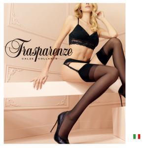 【Trasparenze(トラスパレンツェ)】  Sara 20 インポートガーターシアータイツ  20デニール ガーターベルト必要  ガーターシアータイツ|lingerie-felice