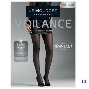 【Le Bourget】(ル ブルジェ)  Satine 15 インポートタイツ  15デニール 薄手ストッキング つま先補強 足型付き コットンマチ シアータイツ|lingerie-felice