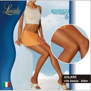 オールスルー/Levante/レバンテ SOLARE vita bassa 6den 極薄 ローライズシアータイツ/6デニール/インポート/イタリア|lingerie-felice