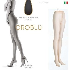 OROBLU オロブル  Suntime インポートタイツ  15デニール 極薄ストッキング パンストオールスルー  シアータイツ|lingerie-felice