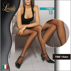 Levante/レバンテ TIME 15den オールシーズン ベーシック シアータイツ/イタリア製/インポートストッキング/|lingerie-felice