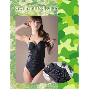 【TM-768 水着 レディース】モールドカップ&ギャザー/ワンピース lingerie-felice