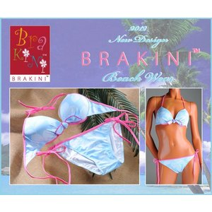 BRAKINI【ブラキニ】ハイビスカスプリント ビキニセット lingerie-felice