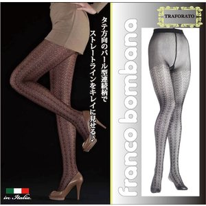 Franco bombana/フランコ ボンバナ【TRAFORATO】 インポートレッグウェア パール型連続柄 タイツ|lingerie-felice