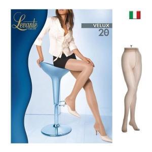 Levante【レヴァンテ】VELUX 20 インポート  極薄ストッキング マチ付ストッキング マチ付パンスト 光沢ストッキング  20デニール シアータイツ|lingerie-felice