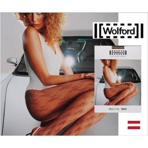 Wolford 【ウォルフォード】MASSIKA / レース調デザインストッキング lingerie-felice