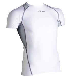 4DM(フォーディーエム)【最終処分/ランニング用品】 ショートスリーブシャツ 4DMB0401 -ホワイト- linkfast