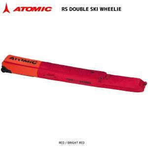 18-19 ATOMIC(アトミック)【トラベル/数量限定】 RS DOUBLE SKI WHEELIE(RSダブルスキーウィーリー)AL5037510【スキー2台入ケース】|linkfast