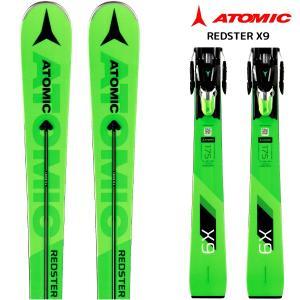 18-19 ATOMIC(アトミック)【スキー板/数量限定】 REDSTER X9 + X12TL(レッドスターX9 金具付)【金具取付料無料】|linkfast