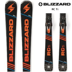 17-18 BLIZZARD(ブリザード)【在庫処分/金具付】 RC Ti + TCX 12 DEMO(RC チタニウム + 金具付)【スキー板/金具取付無料】 linkfast