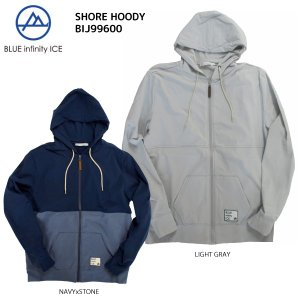 BLUE infinity ICE (ブルーインフィニティアイス) 【在庫処分/フード付パーカー】 SHORE HOODY(ショアフーディー) BIJ99600|linkfast