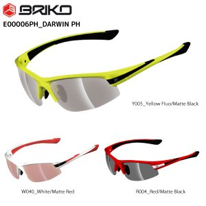 BRIKO(ブリコ)【在庫処分/サングラス/アイウェア】 DARWIN PH(ダーウィンPH)E00006PH 調光レンズ【スポーツサングラス】 linkfast