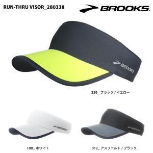 BROOKS(ブルックス)【2016/サンバイザー/限定】 RUN-THRU VISOR (ランスルーバイザー) 280338|linkfast