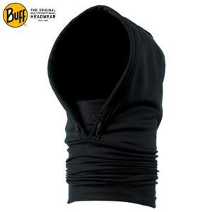 BUFF (バフ)【フード付/防風透湿/フェイスマスク】 100987 BLACK ADULT|linkfast