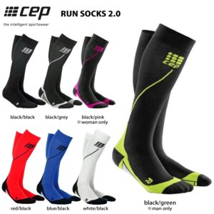 CEP (シーイーピー)【ランニング/コンプレッション】 RUN SOCKS 2.0 (ランソックス 2.0)|linkfast