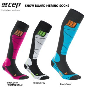 CEP (シーイーピー)【ウィンター/コンプレッション】 SNOW BOARD MERINO SOCKS (スノーボード メリノソックス)【スノー/スキーソックス】|linkfast