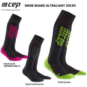 CEP (シーイーピー)【ウィンター/コンプレッション】 SNOW BOARD ULTRALIGHT SOCKS (スノーボード ウルトラライトソックス)【スノー/スキーソックス】|linkfast
