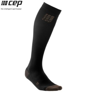 CEP (シーイーピー) 【ソックス/コンプレッション/注目商品】 GOLF SOCKS (ゴルフソックス) -ブラック-|linkfast