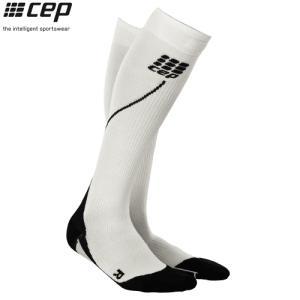 CEP (シーイーピー) 【ソックス/コンプレッション/注目商品】 RUN SOCKS 2.0 (ランソックス 2.0) -ホワイト/ブラック-|linkfast