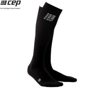 CEP (シーイーピー)【ソックス/着圧コンプレッション】 RUN SOCKS 2.0 (ランソックス 2.0) -ブラック/ブラック- linkfast