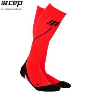 CEP (シーイーピー) 【ソックス/コンプレッション/注目商品】 RUN SOCKS 2.0 (ランソックス 2.0) -レッド/ブラック-|linkfast