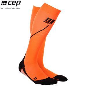 CEP (シーイーピー) 【ソックス/コンプレッション/注目商品】 RUN SOCKS 2.0 (ランソックス 2.0) -オレンジ/ブラック-|linkfast