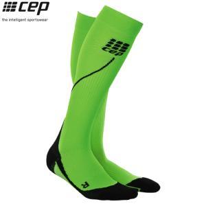 CEP (シーイーピー) 【ソックス/コンプレッション/注目商品】 RUN SOCKS 2.0 (ランソックス 2.0) -グリーン/ブラック-|linkfast