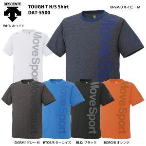 DESCENTE(デサント)【最終処分/ハーフスリーブ】 TOUGH T H/S Shirt(タフティー ハーフスリーブシャツ)DAT-5500【スポーツTシャツ】|linkfast