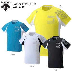 DESCENTE(デサント)【最終在庫処分/半袖Tシャツ】 HALFSLEEVE SHIRT(ハーフスリーブシャツ)DAT-5710【スポーツTシャツ】|linkfast