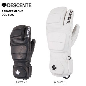 16-17 DESCENTE(デサント)【グローブ/数量限定】 3 FINGER GLOVE (3フィンガーグローブ) DGL-6002|linkfast