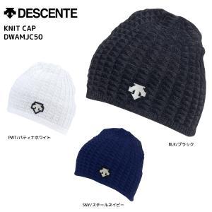 18-19 DESCENTE(デサント)【ニット帽/数量限定】 KNIT CAP (ニットキャップ)DWAMJC50【スノーニット帽】 linkfast