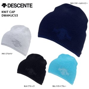 18-19 DESCENTE(デサント)【ニット帽/数量限定】 KNIT CAP (ニットキャップ)DWAMJC53【スノーニット帽】 linkfast
