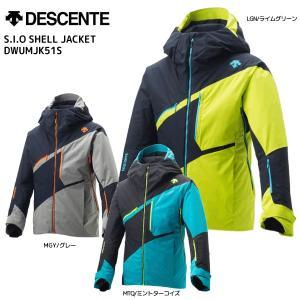 18-19 DESCENTE(デサント)【在庫処分品/ウェア】 S.I.O SHELL JACKET(ジオシェルジャケット)DWUMJK51S【スキージャケット】 linkfast