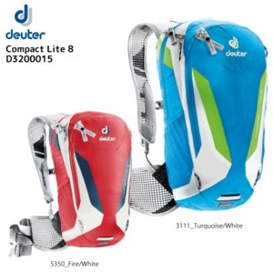 DEUTER(ドイター)【在庫処分/バイクバックパック】 Compact Lite 8 (コンパクトライト8) D3200015【バックパック/バイク】|linkfast